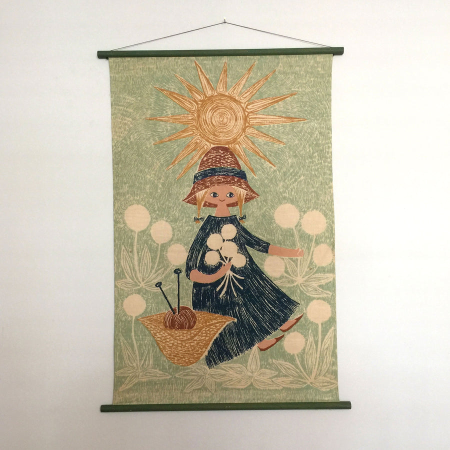 Mid Century Danish Wall Hanging