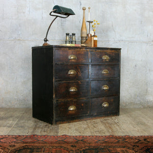 vintage_edwardian_pine_ebonised_chest_of_drawers.3