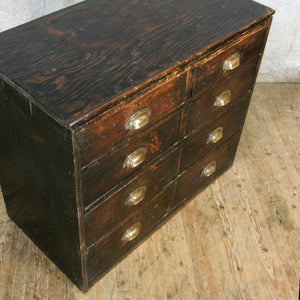 vintage_edwardian_pine_ebonised_chest_of_drawers.5