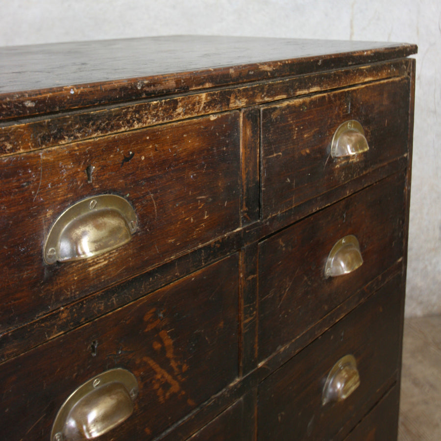 vintage_edwardian_pine_ebonised_chest_of_drawers.6