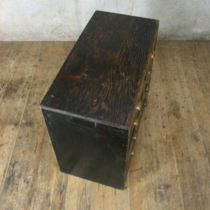 vintage_edwardian_pine_ebonised_chest_of_drawers.8