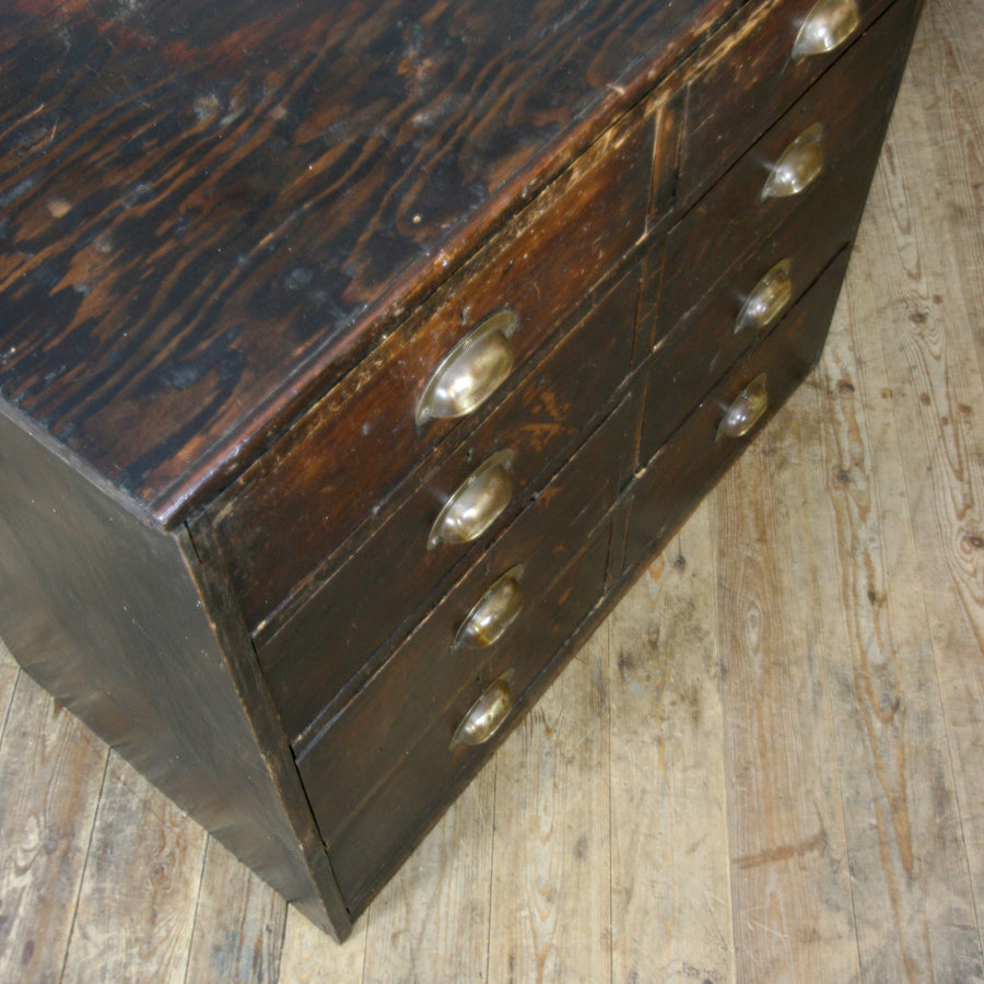 vintage_edwardian_pine_ebonised_chest_of_drawers.9