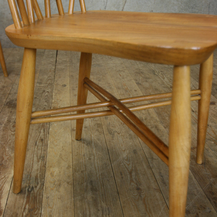 X1 Rare Mid Century Ercol Candlestick Chiltern Chair #0913