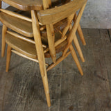 X1 Mid Century Ercol 392 Junior Stacking Chair (2 available)