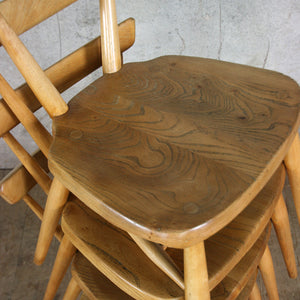 1 x Mid Century Ercol 392 Junior Stacking Chair