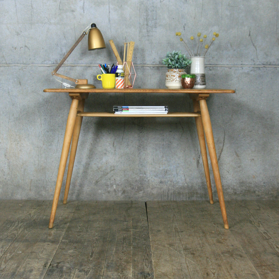 Mid Century Ercol 393 Table / Desk