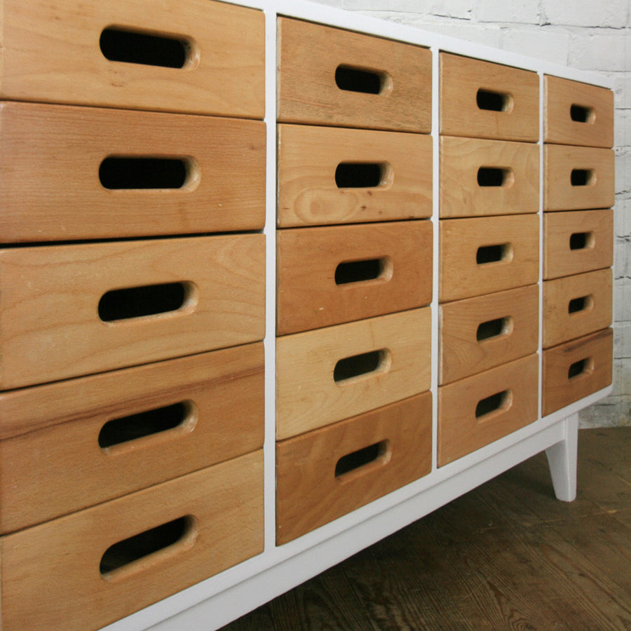Vintage Esavian School Drawers / Sideboard