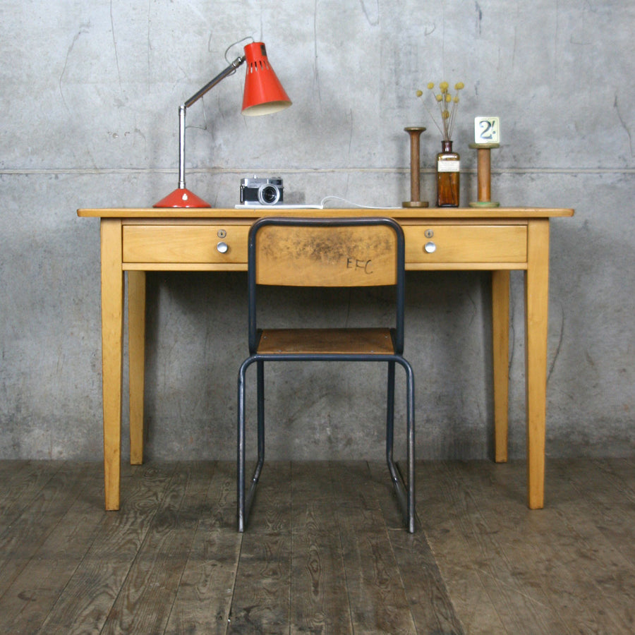 Vintage Esavian School Teachers Desk