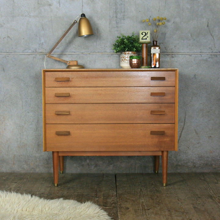 E-Gomme Mid Century Teak Chest of Drawers