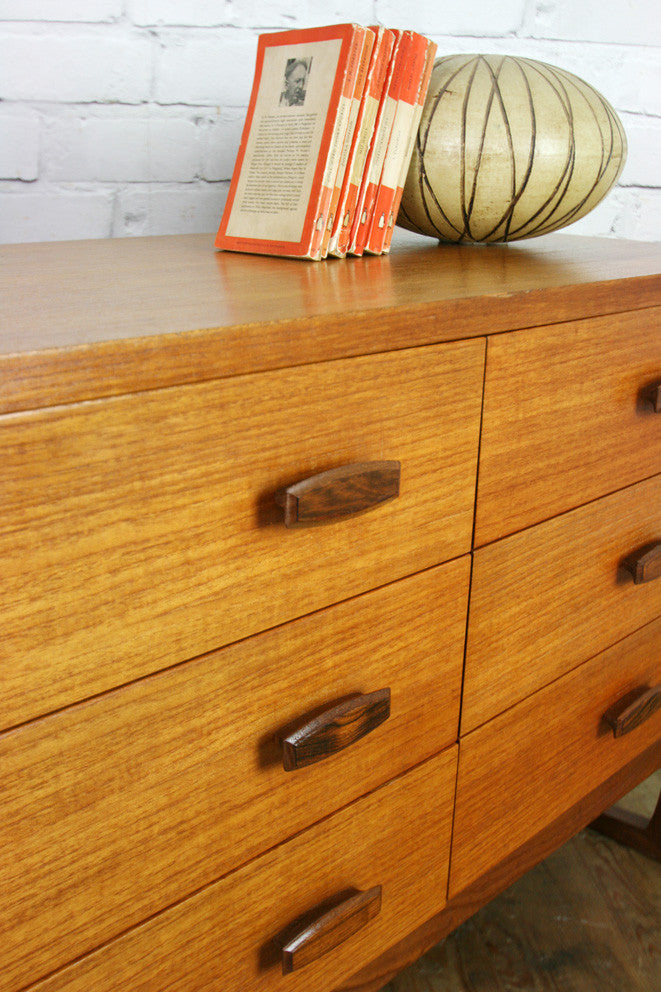 G Plan Large Quadrille Teak Chest of Drawers #2
