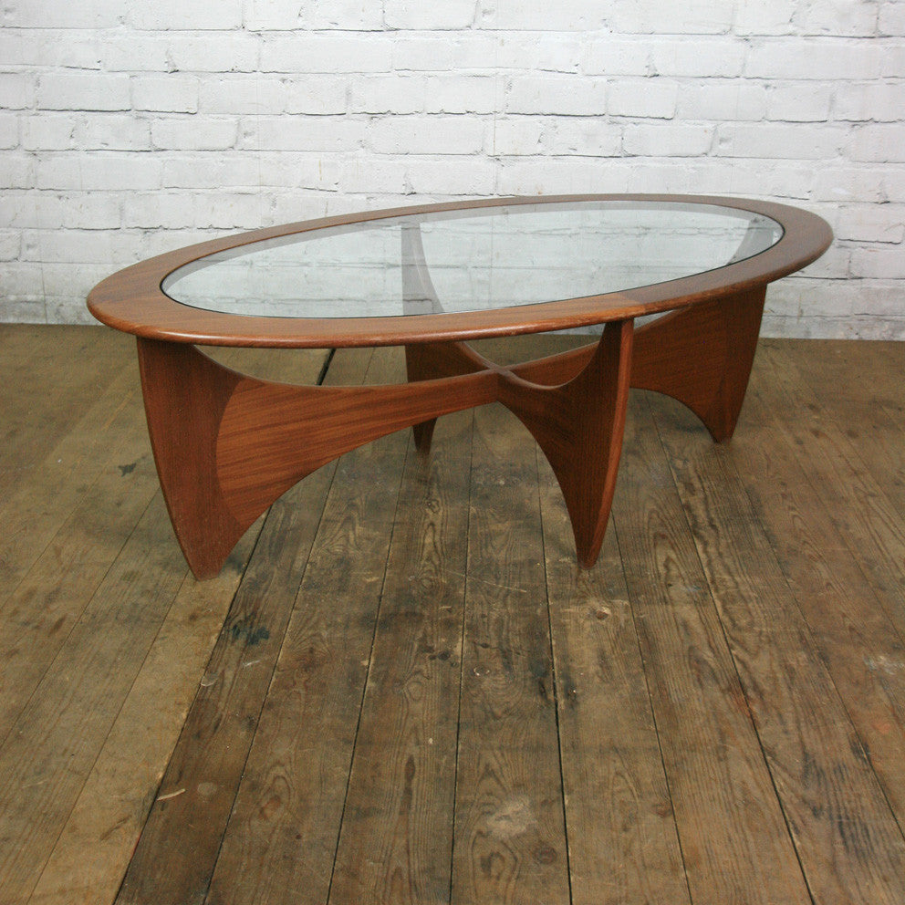 Mid century teak g plan astro coffee table mustard vintage mid century teak g plan astro coffee table geotapseo Choice Image