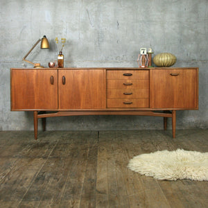 Mid Century E-Gomme G-Plan Large Teak Sideboard