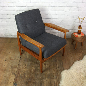 Vintage Guy Rogers Manhattan Armchair (1 of 2)