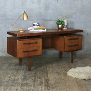 Mid Century G Plan Fresco Dressing Table / Desk