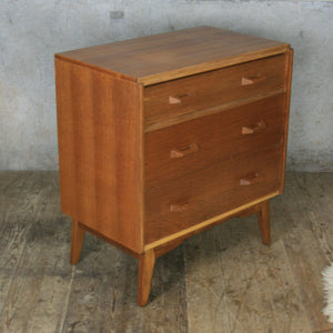 Mid Century G-Plan Oak Chest of Drawers/Bureau