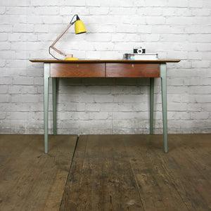 Vintage Industrial Esavian School Headmasters Desk