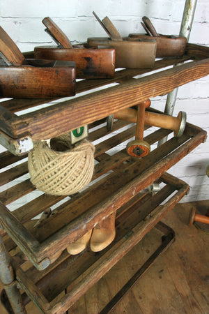 Vintage Industrial Factory Shoe Trolley #2 – Retail Shop Display