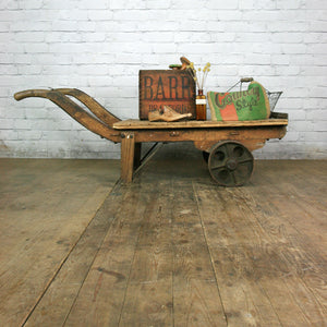 Vintage Industrial Factory Truck/Cart  – Retail Shop Display