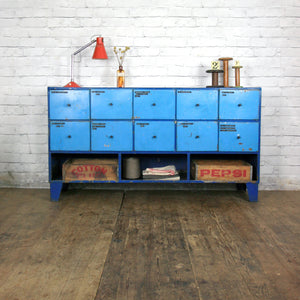Vintage Industrial Drawers / Counter - Retail Display