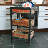 Industrial Steel Pepsi Crate Trolley