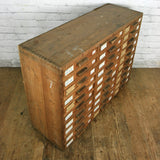 Vintage Tool / Collectors Bank of Drawers – Retail Display