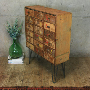 Vintage Rustic Industrial Drawers - 0509p