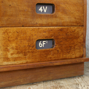 Vintage School Multi Drawers / Plan Chest #27102