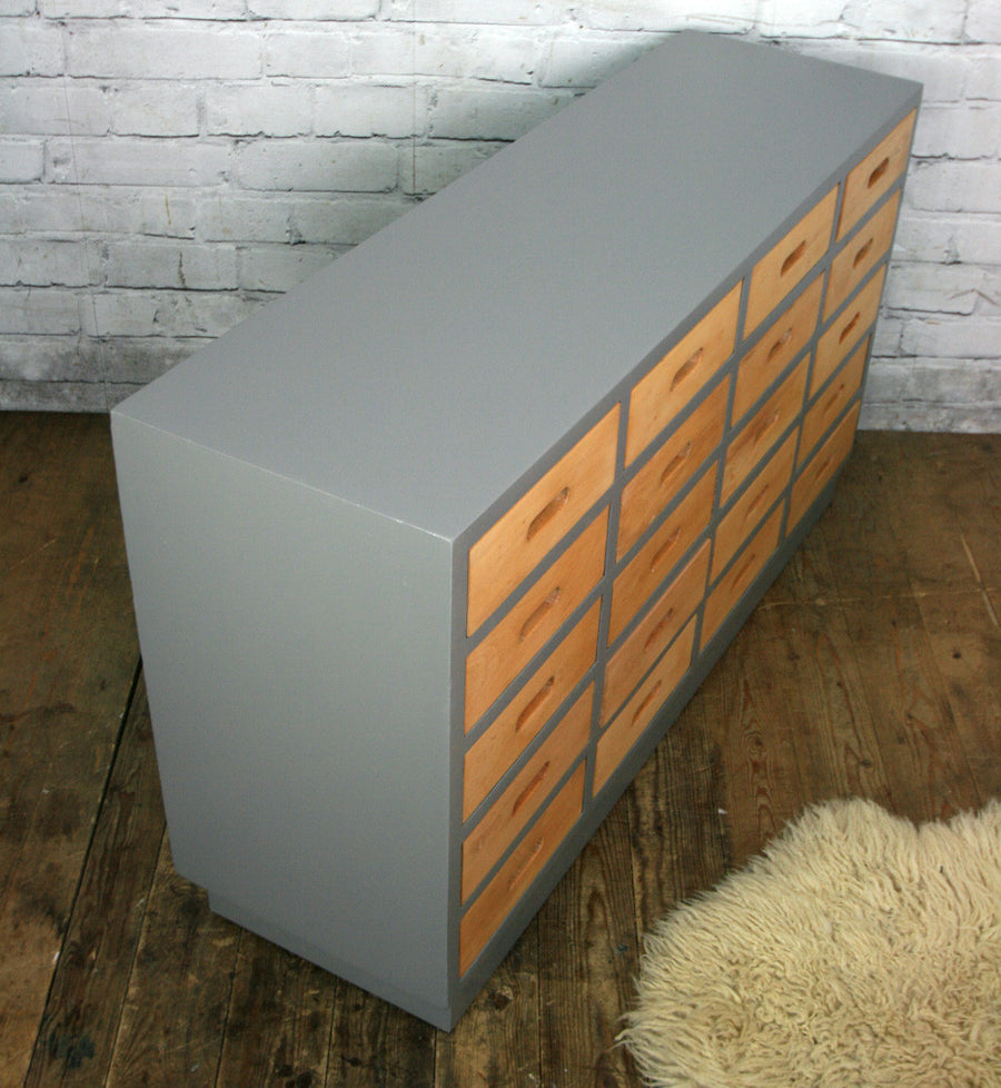 Mid Century School Chest of Drawers