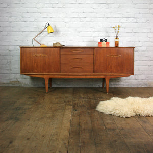 Jentique Teak Mid Century Sideboard/TV/Media Cabinet