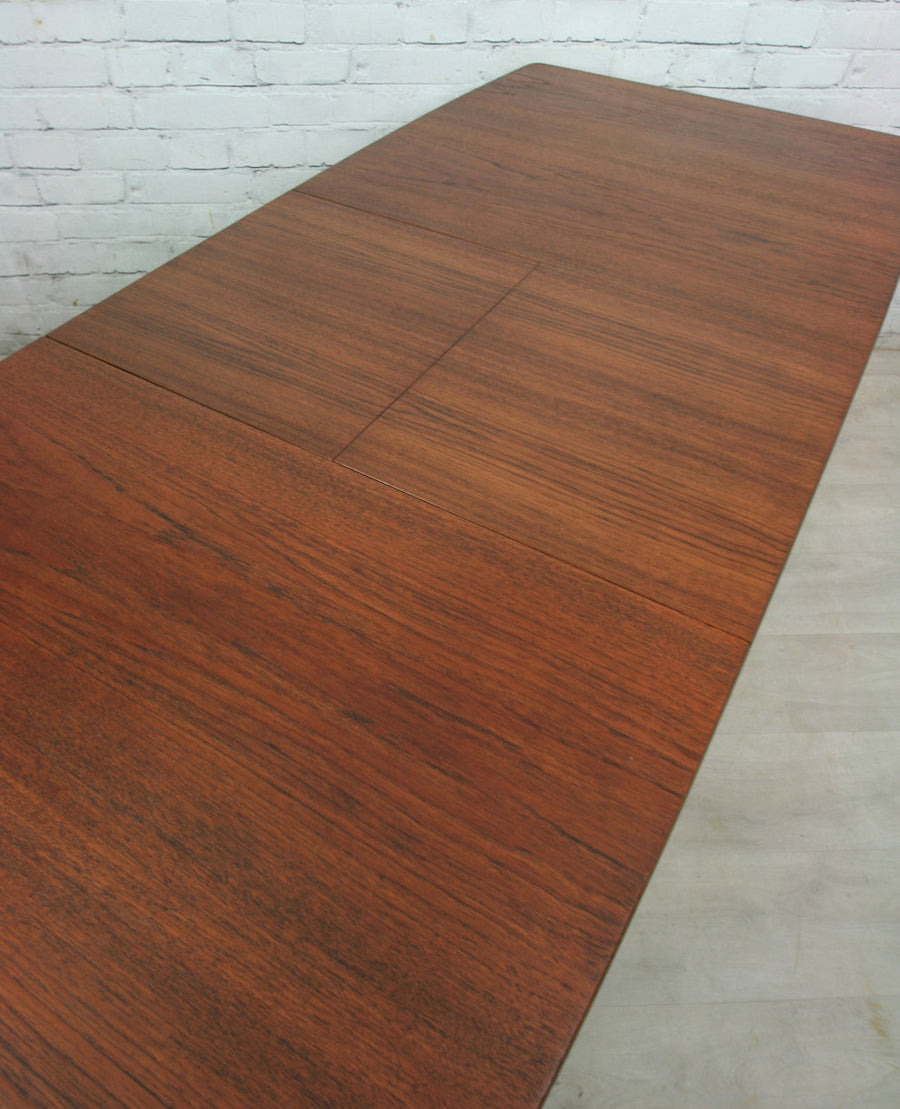 Vintage 1960s McIntosh Teak Extending Dining Table