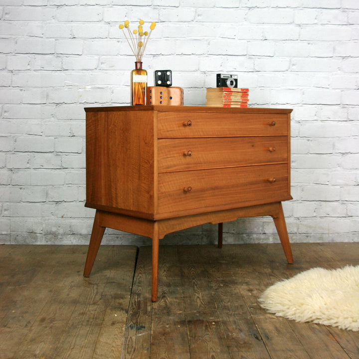 Vintage 1950s Alfred Cox Chest of Drawers