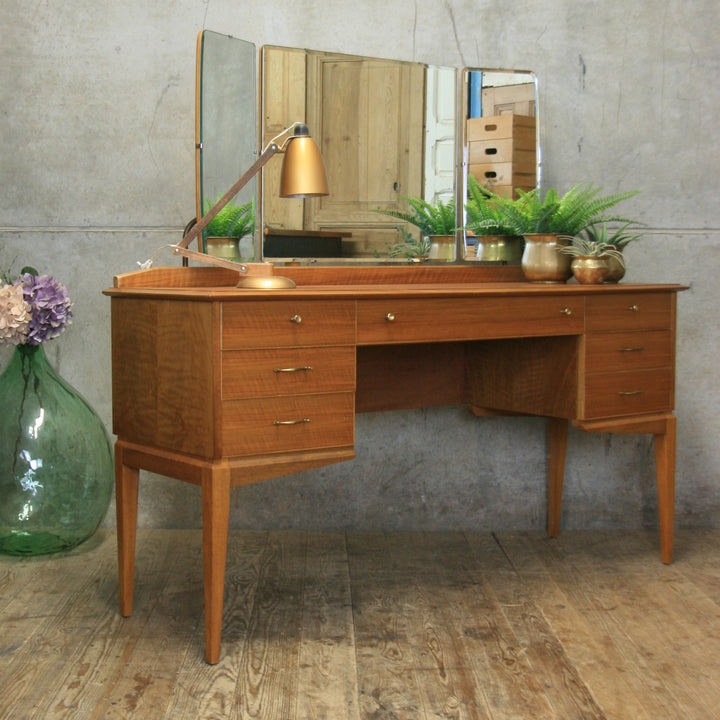 Mid Century Alfred Cox Dressing Table #1902a
