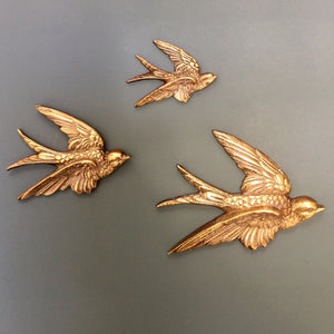 vintage_brass_mid_century_trio_swallows