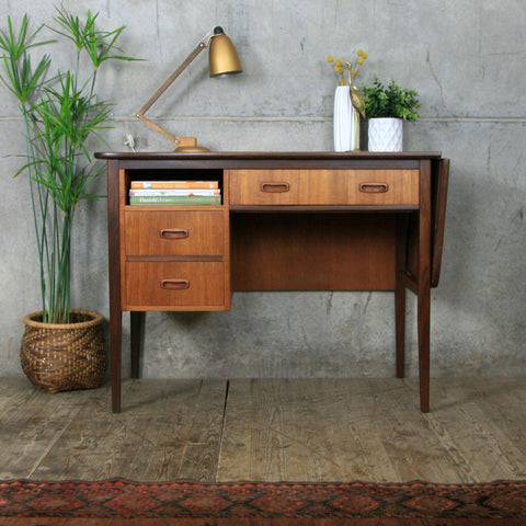Mid Century Danish Extending Desk