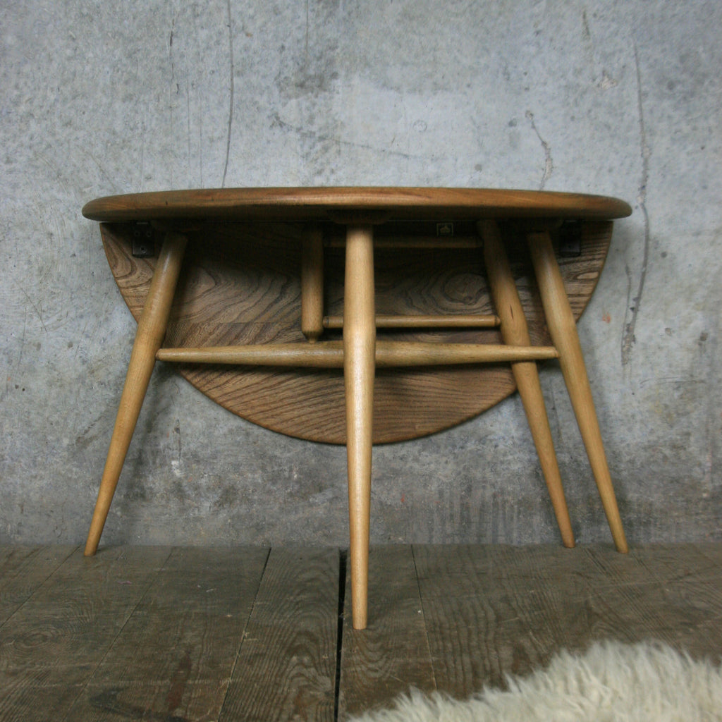Ercol Mid Century Drop Leaf Coffee Table
