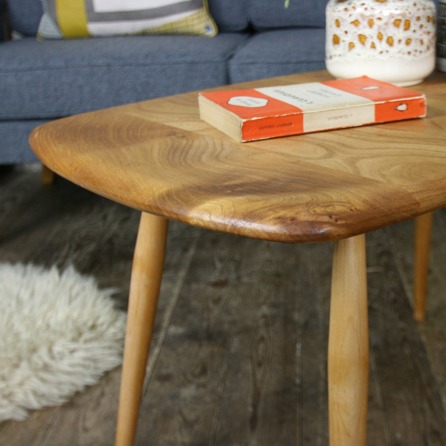 Mid Century Elm & Beech 'Model 213' Occasional Table