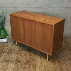 Mid Century Ercol Model 366 Windsor Sideboard - 3007k