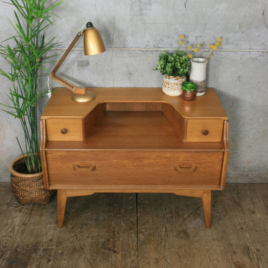 Mid Century G-Plan Oak Dressing Table