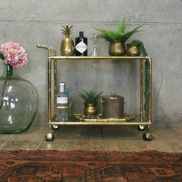 vintage_mid_century_hollywood_regency_brass_drinks_bar_trolley_cart