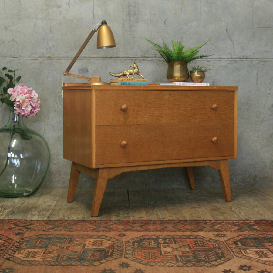 vintage_mid_century_oak_chest_drawers_bedside_table
