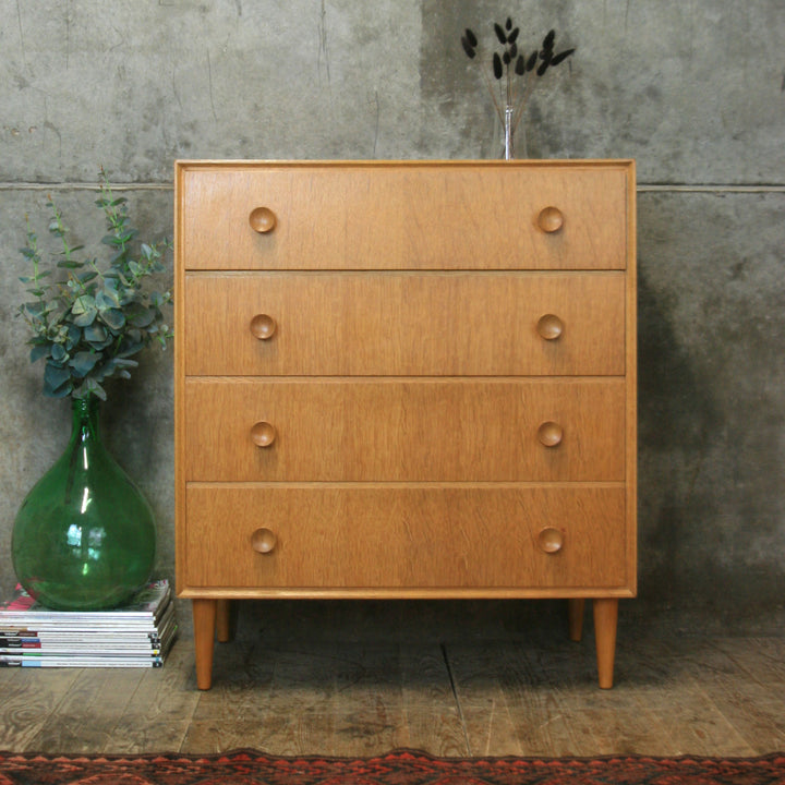 vintage_mid_century_oak_meredew_chest_of_drawers