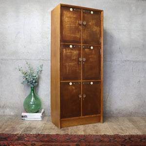 vintage_mid_century_school_wooden_lockers