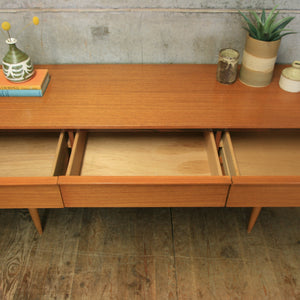 Mid Century Teak Lowline Chest of Drawers