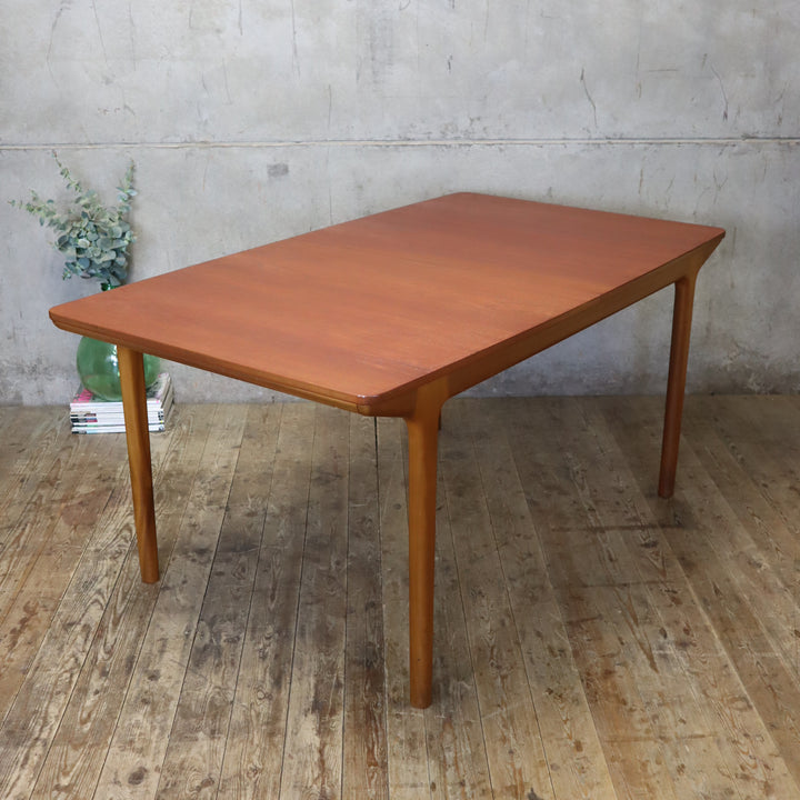 McIntosh Mid Century Teak Double Extending Dining Table - 2304h