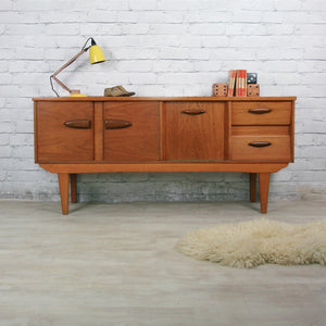 Small Teak 1960s/70s Sideboard