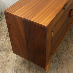 Small Mid Century Walnut Sideboard #3/19