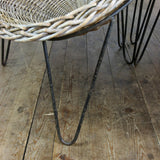 Mid Century Wicker Tub Chair by Conran – 2 in stock