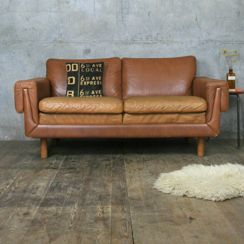 Vintage Tan Leather Sofa Bed Mjob Blog