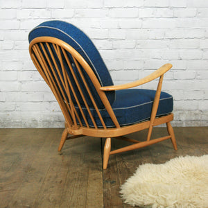 Mid Century Ercol Vintage Windsor Armchair