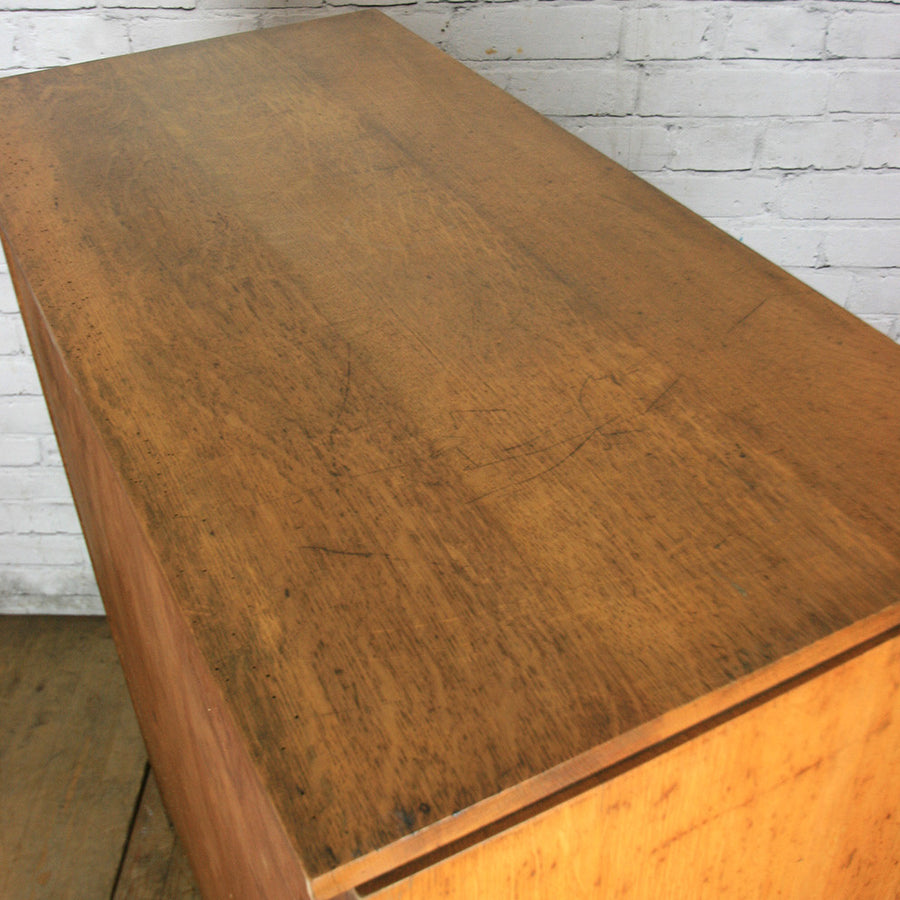 Huge Vintage Oak Chest of Drawers